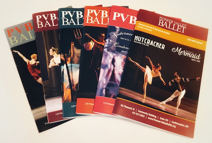 Pioneer Valley Ballet Program Books